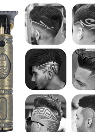 Профессиональная машинка (триммер) для стрижки волос, бороды