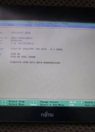 Планшет Fujitsu Stylistic Q550 (не полный комплект) windows