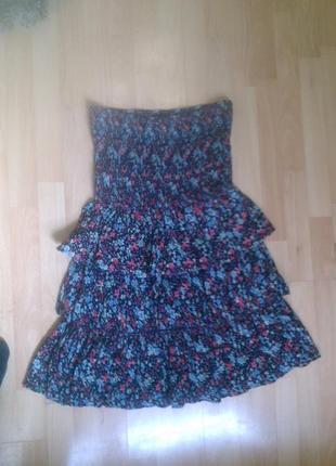 Фирменный сарафан платье