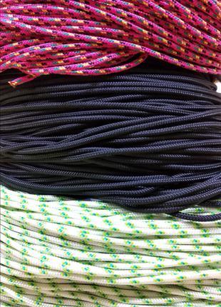 Веревка (Шнур плетёный) 3мм Статика