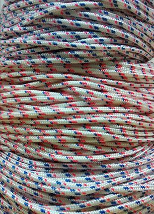 Веревка (Шнур плетёный) 4мм Статика