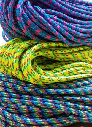 Веревка (Шнур плетёный) 8мм Статика