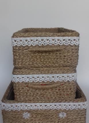 Интерьерные корзинки для хранения