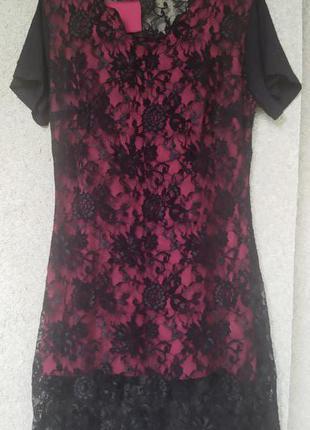 Кружевное платье  Вlack hype