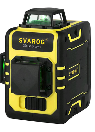 Лазерный уровень Svarog 3d зелёный луч , нивелир