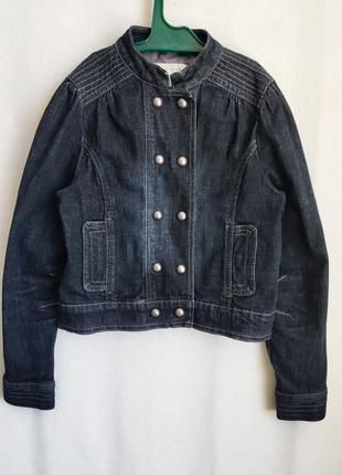 Детская джинсовая куртка vertbaudet