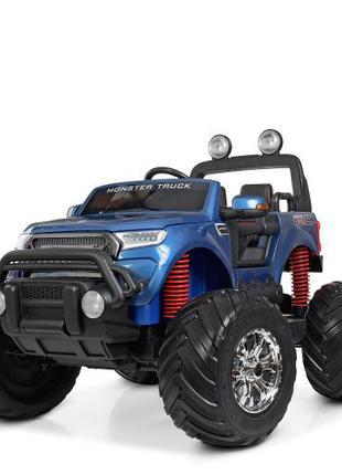 Электромобиль Ford Ranger Monster Truck M 4273 ELS-4 24V синий