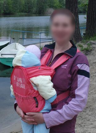 Рюкзак переноска кенгуру детский Bertoni