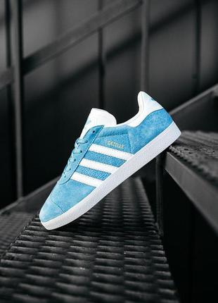 """Adidas gazelle """"royal"""" мужские стильные кроссовки"""