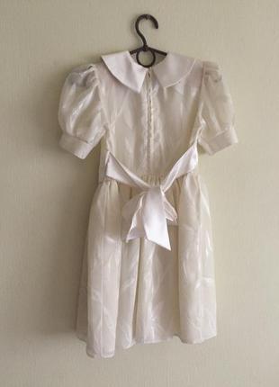 Платье нарядное 6-7-8 лет