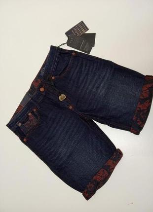 Стильные джинсовые шорты от jack&jones, дания