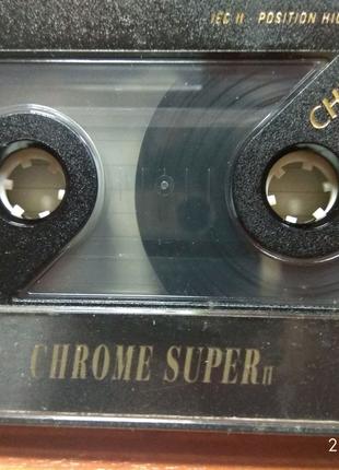 Аудиокассеты Chrom type II. SONY, BUSF.