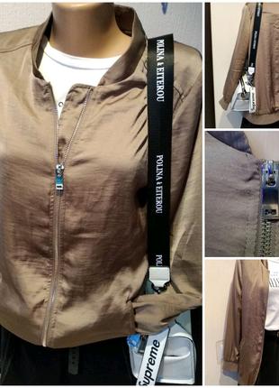 Стильная брэндовая куртка пиджак жакет ветровка