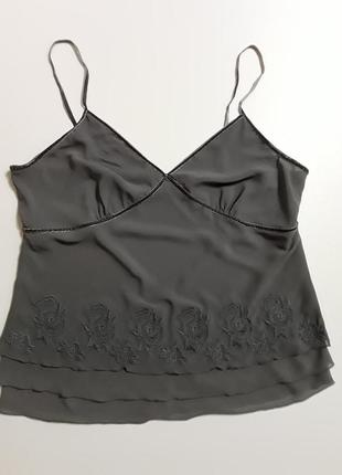 Фирменная блуза майка в белльевом стиле