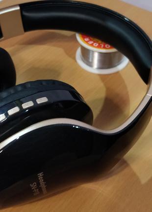 Bluetooth наушники  SN-P18 с микрофоном и функцией шумоподавления