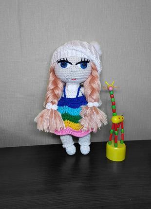 Вязаная кукла Милли