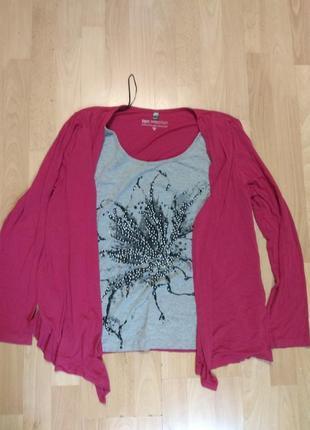 Фирменная кофточка блузка