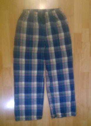 Фирменная хлопковая пижама низ 12-13 лет