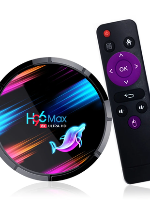 Приставка H96 Max X3, 4/32 GB, Amlogic S905X3, Android TV Box