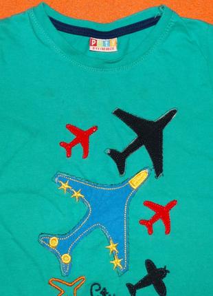 Турецкая футболка для мальчика 1 год