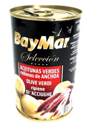 Оливки зеленые BayMar