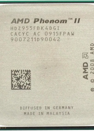 Продам процессор AMD Phenom(tm) II X4 955 Processor.