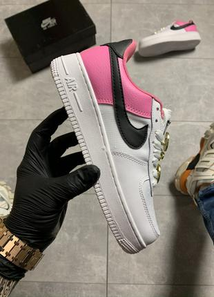 Nike Air Force Low White Pink