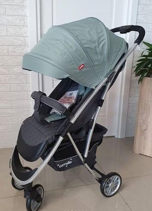 Легкая Прогулочная коляска Carrello Gloria, 8 кг. +Дождевик