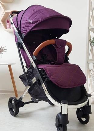 Легкая прогулочная коляска -чемодан Comfort