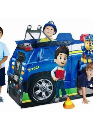 """Детская палатка домик """"Щенячий патруль"""", Пожарная машина Автобус"""