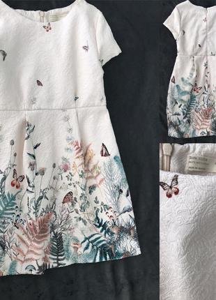 Идеальное платье zara 9-10 лет