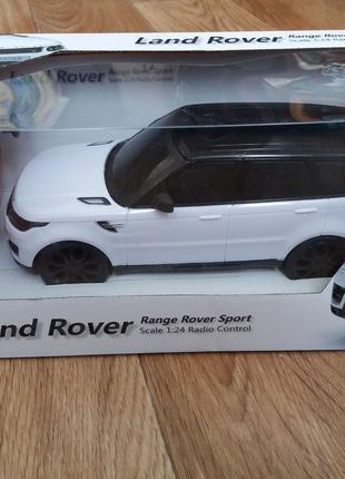 Машинка на радиоуправлении Range Rover Sport из Англии (торг)