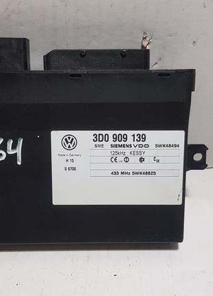 Блок управления центральным замком VolkswagenTouareg 3D0909139