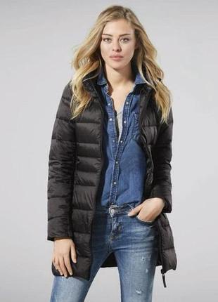 Женское термо пальто куртка удлиненная esmara германия, bionic...