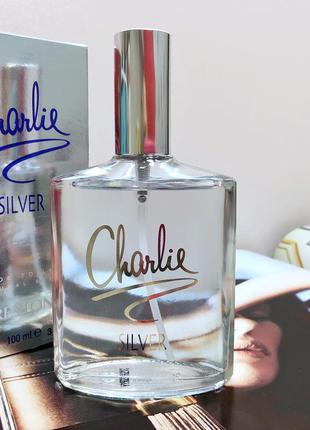 Revlon charlie silver. туалетная вода charlie.
