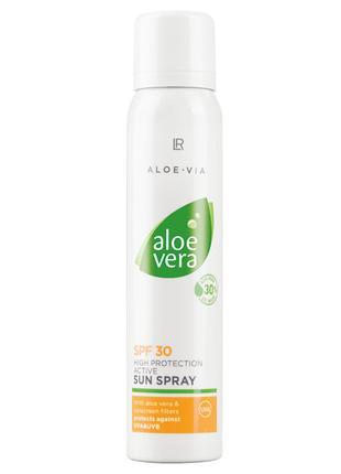 LR Aloe Via Aloe Vera Сонцезахисний спрей SPF 30