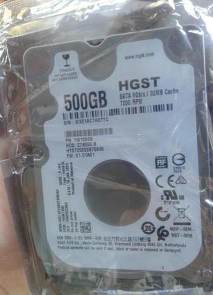 "Накопитель HDD 2.5"" SATA 500GB Hitachi (HGST) Travelstar Z7K500.B"