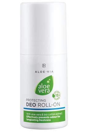 Aloe Via Aloe Vera Кульковий дезодорант