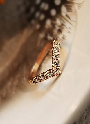 Классическое v-образное кольцо