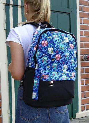 Вместительный тканевый рюкзак для ноутбука, спорта, городской