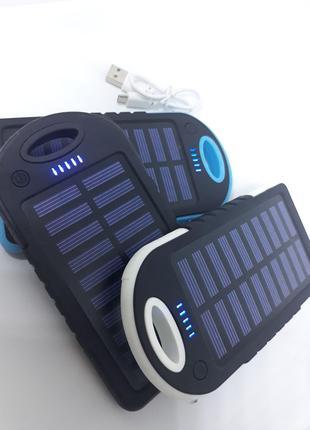 Power Bank Solar 40000 mAh на солнечной батареи, Аккумулятор