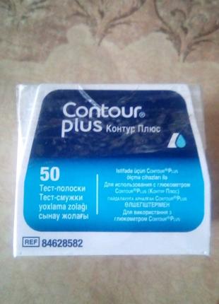 """Тест полоски """"Contour plus"""""""