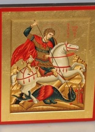 Икона писаная. влмч. Георгий Победоносец