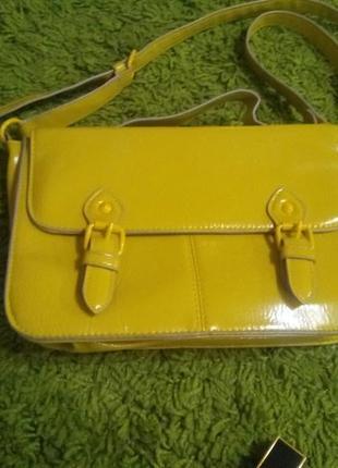 Сумка оливкового цвета, сумка-сэтчел