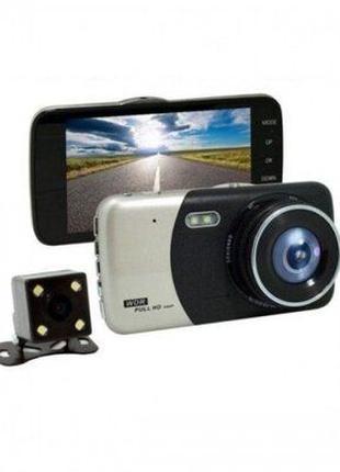 Автомобильный видеорегистратор +камера заднего вида ull HD 108...