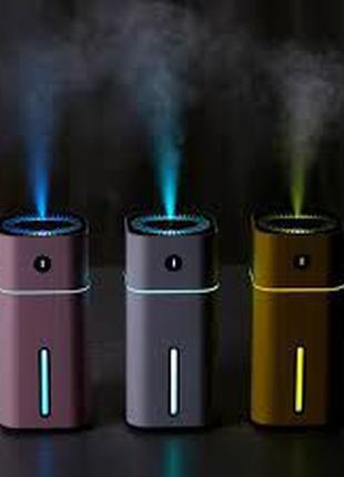 Увлажнитель воздуха Ночник Ароматизатор ультразвуковой очистит...