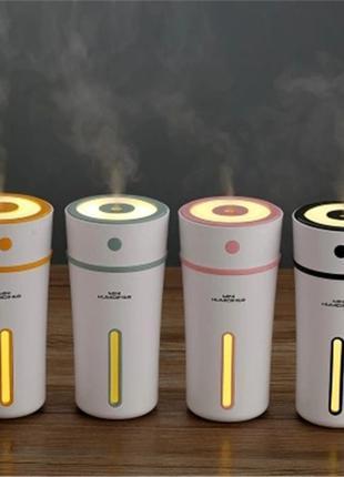 Ультразвуковой увлажнитель воздуха для дома авто ночник аромат...