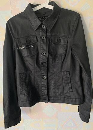 Новая джинсовая куртка geisha jeans l