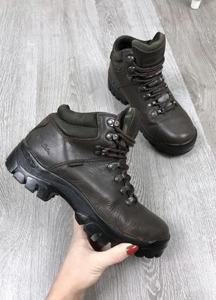 Отличные кожаные ботинки peter storm