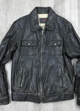 Харизматичная кожаная курточка
